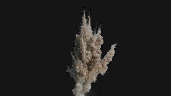 Dust Explosions Stock Footage Collection | ActionVFX