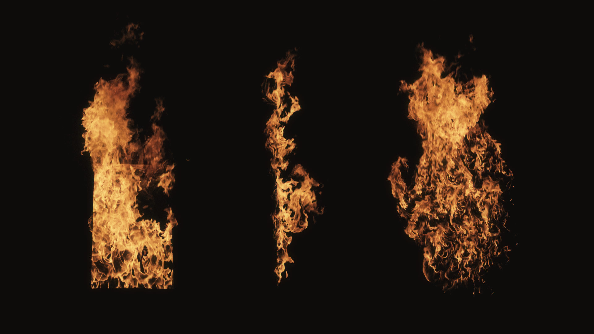 Structure Fire Stock Footage Collection | ActionVFX