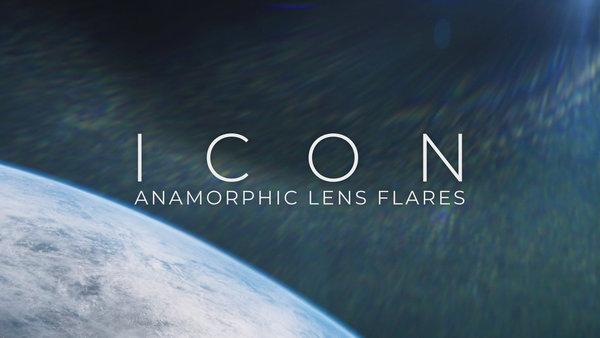 Icon: Anamorphic Lens Flares