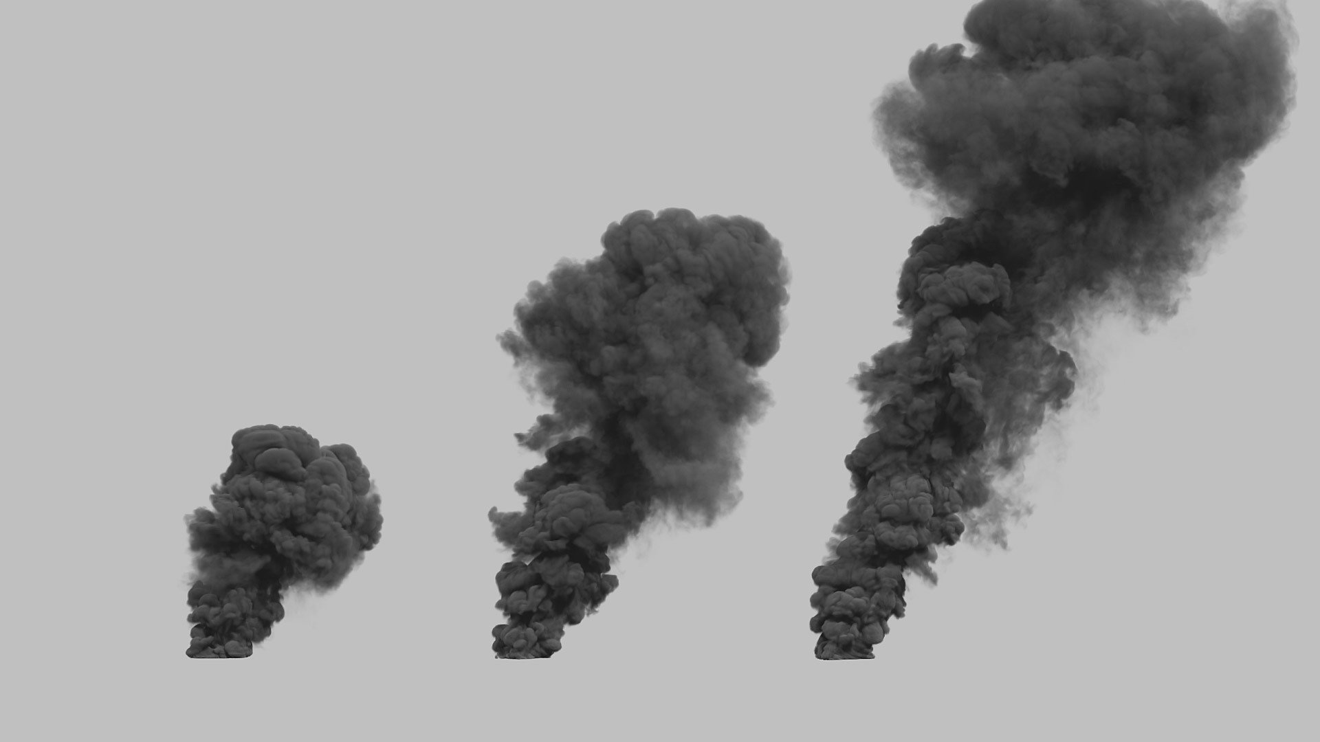 Large Scale Smoke Plumes Vol. 1 Stock Footage Collection | ActionVFX