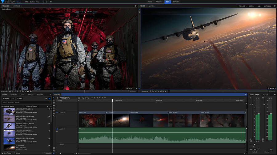 HitFilm Pro: Professional VFX Compositing for the Next Generation