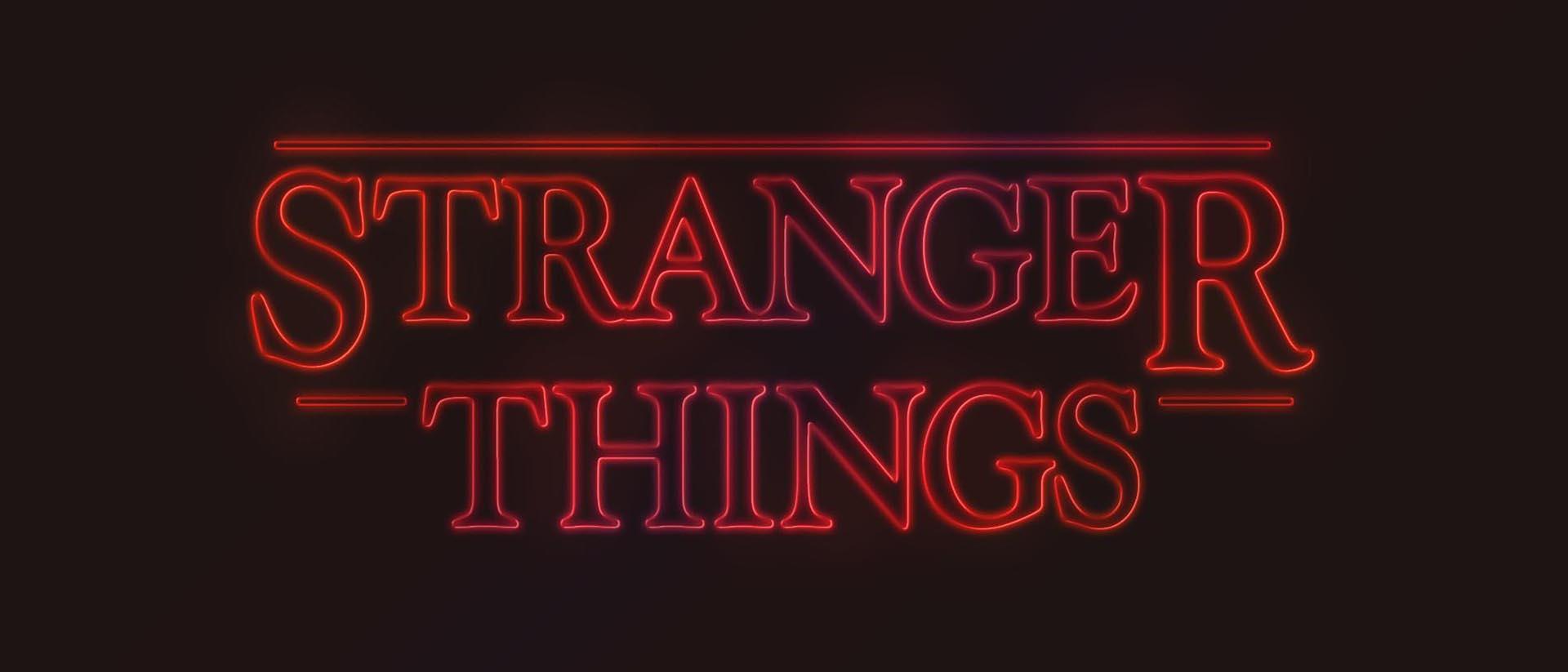 Stranger things banner