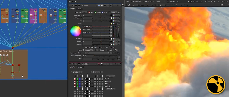 Aerial explosions in nuke banner
