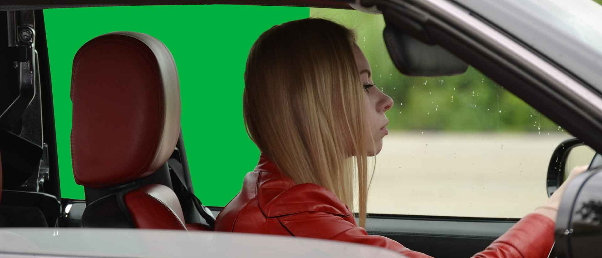 How to shoot and composite vehicle interiors with a green screen banner 2