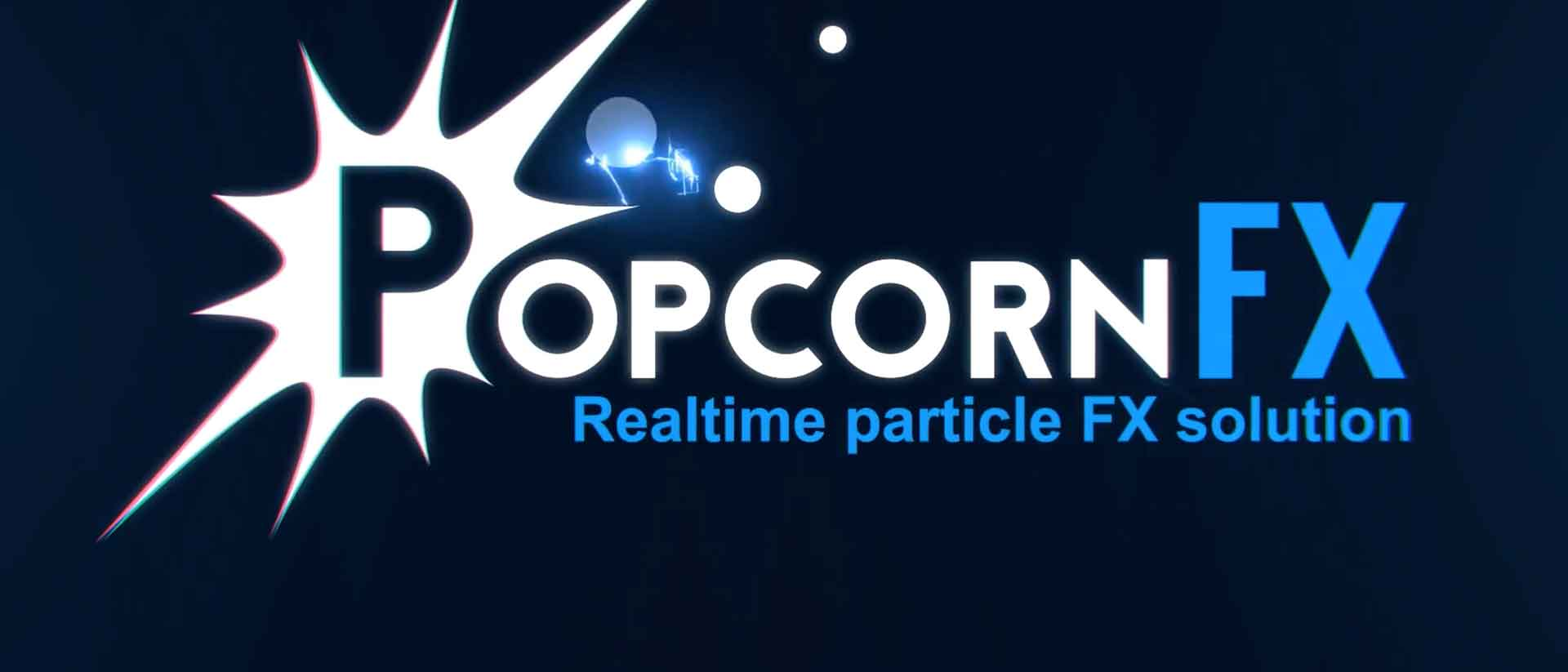 How to use real time particle effects with popcornfx banner final