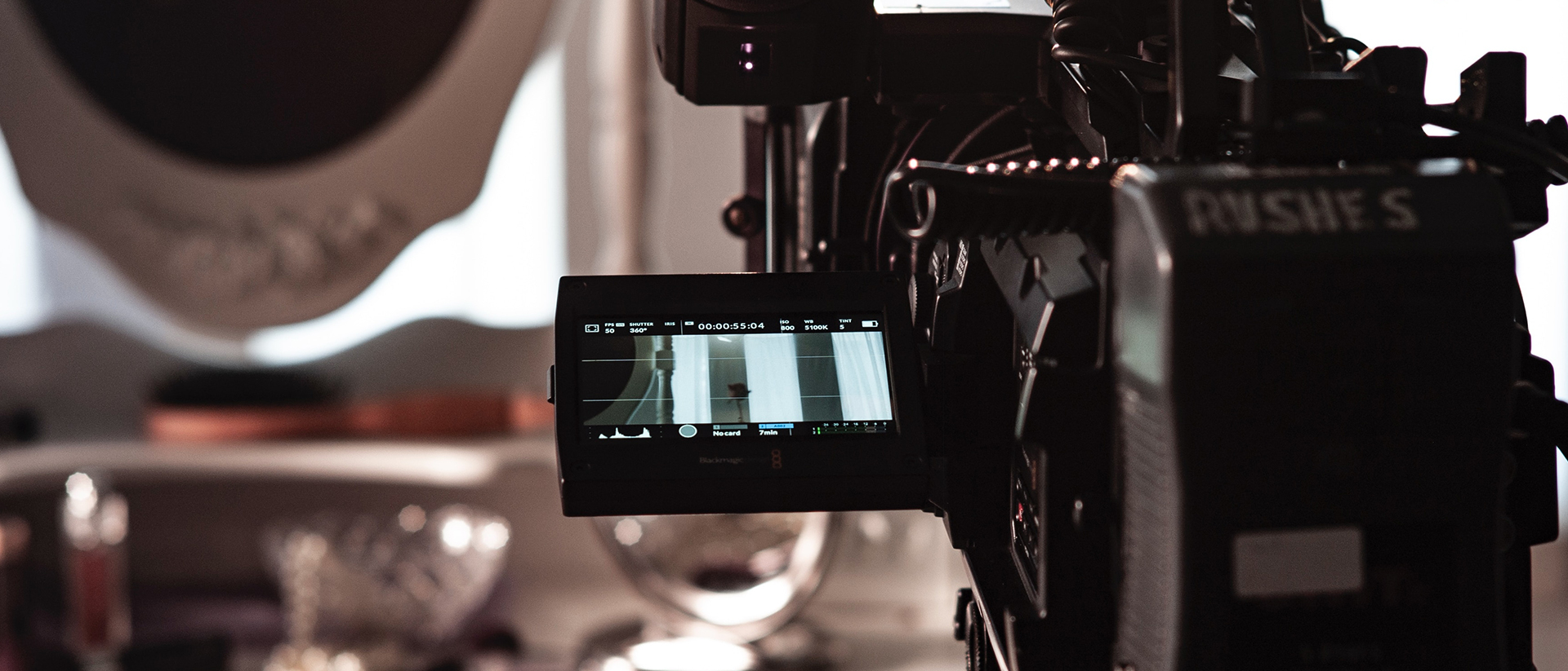 Filmmaker curated sales blog banner