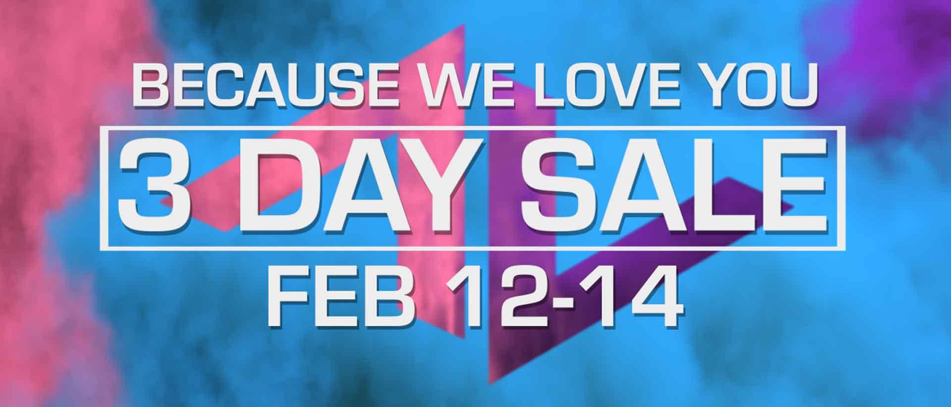 Valentine s day sale blog banner option2