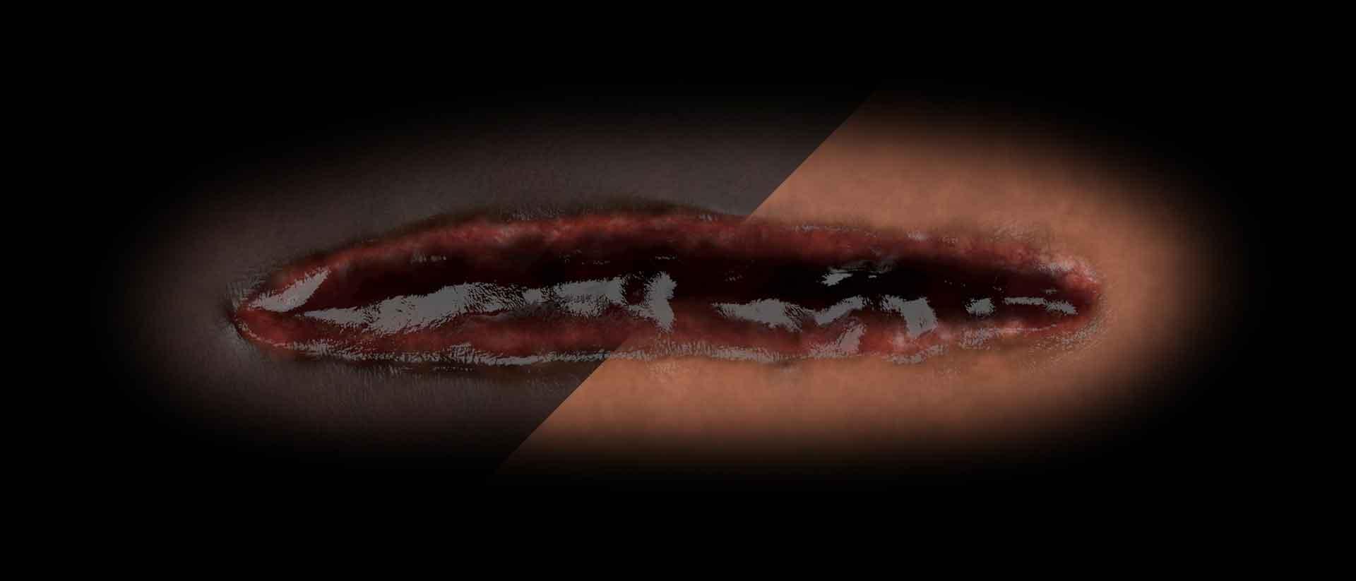 Gore textures skin tone blog banner