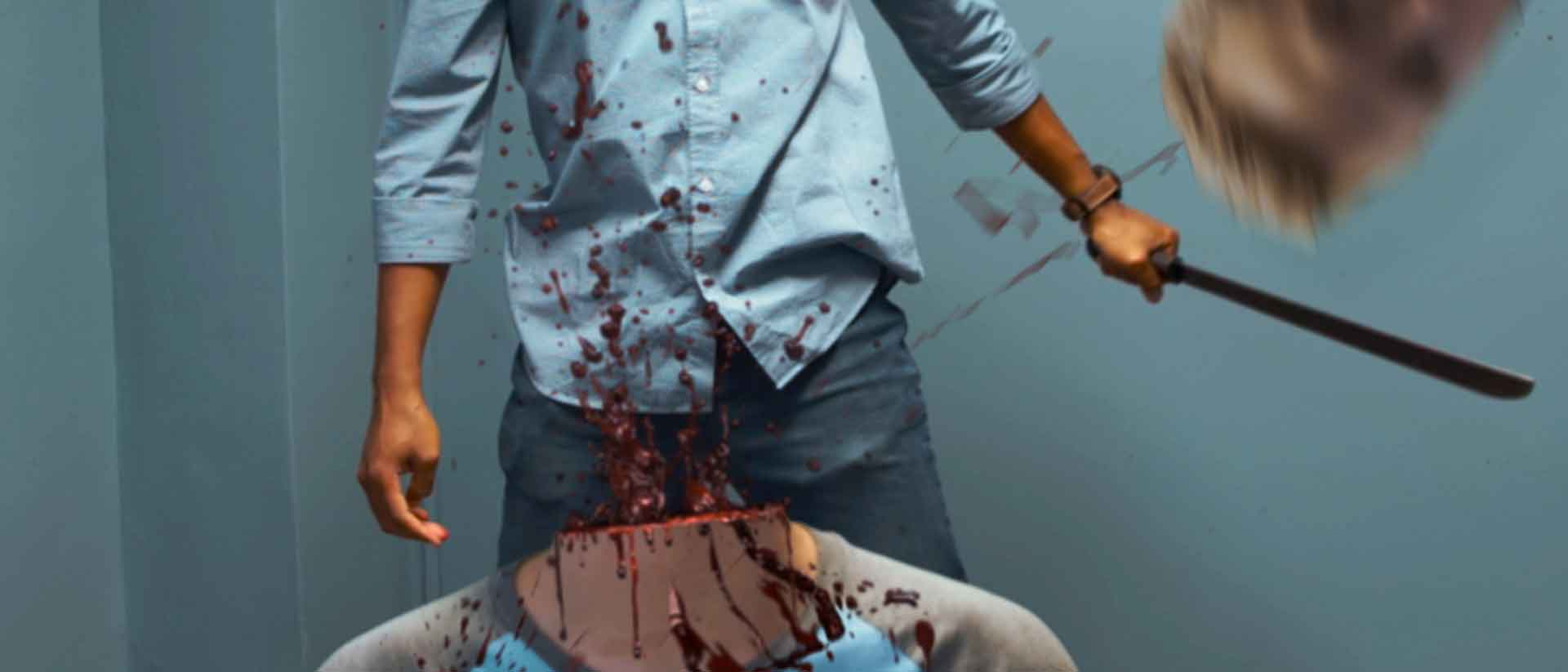 Decapitation with blood and gore vfx stock footage blog banner